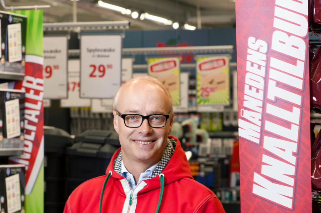 Administrerende direktør Pål Wibe i Europris står i spissen for den største moderniseringen og oppgraderingen av butikkene i Europris' historie.