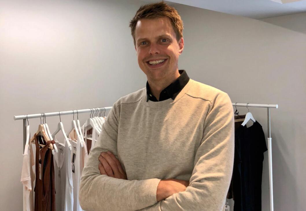 Simen Bøhmer kaller seg en 'entusiastisk produktmann'. (Foto: Front Systems)