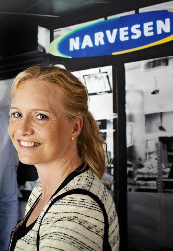 Mariette Kristenson vender hjem til Sverige. (Foto: Reitan Convenience)