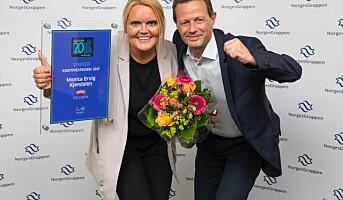 Hun ble årets kremmer i NorgesGruppen