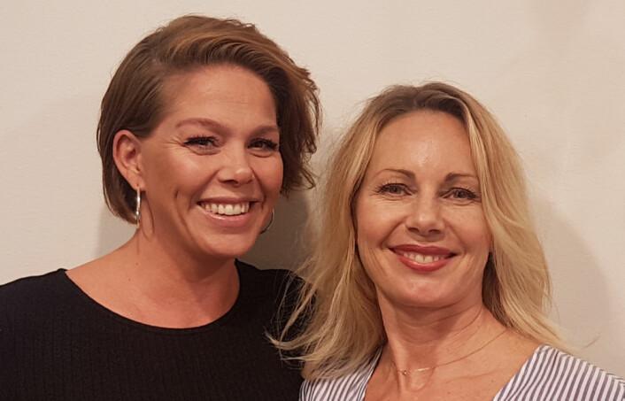Hanne Stabell (t.h.) har ansatt Nina Riise-Hansen er ansatt som KAM i Ventus Fashion. (Foto: Privat)