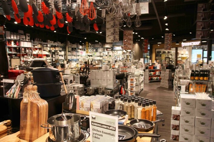 Kitch'n flyttet inn i Grorud Senter i fjor og er en av senterets viktigste butikker.