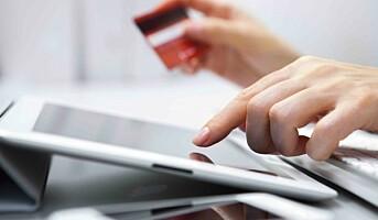 Stor økning i netthandelen med internasjonale betalingskort