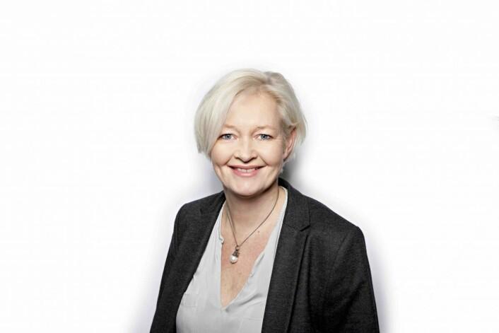 Konserndirektør Gro Bakstad i Posten Norge. Foto: Thomas Brun/Postenetekst