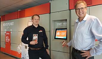 Første automatiserte hentestasjon for dagligvarer er åpnet