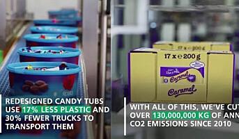 Mondelēz vil gjøre all emballasje resirkulerbar