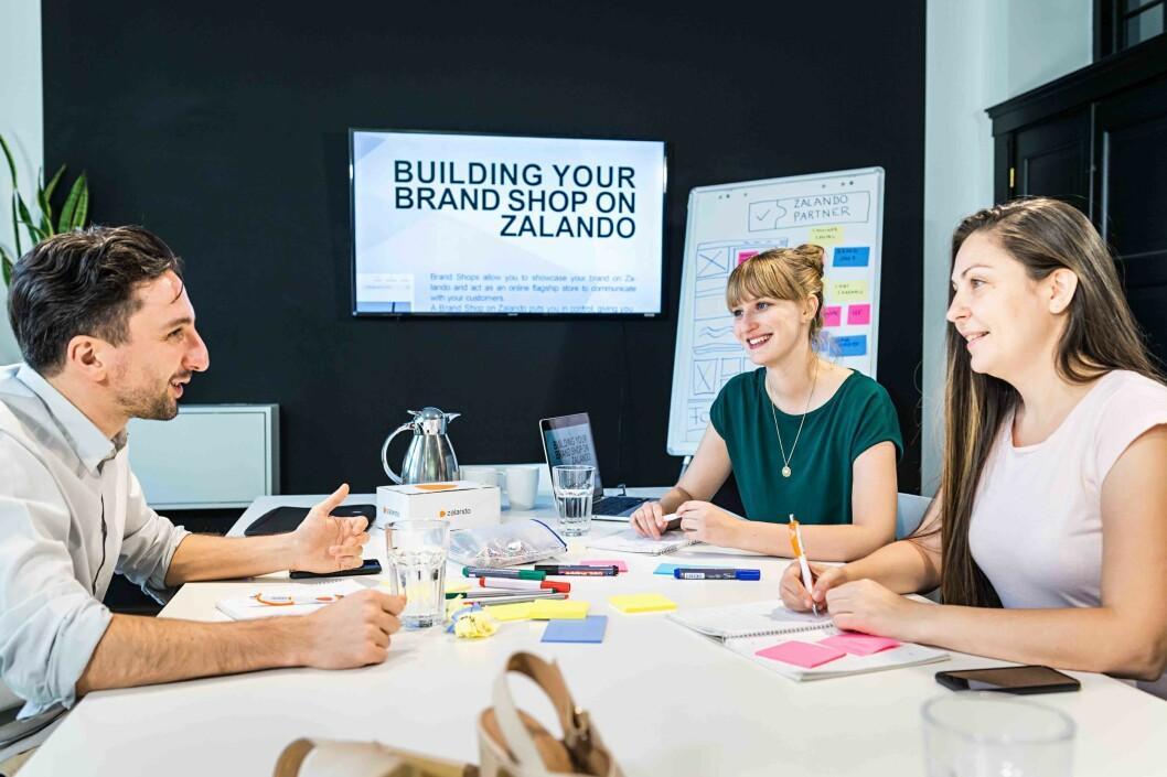 Andelen av brands hos Zalando som inngår avtale om partnerskap øker. Foto: Zalando
