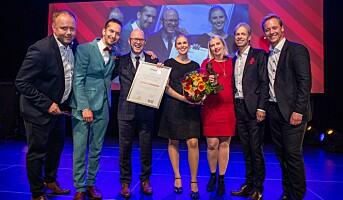 Sartor vant Den Gylne Idé – Åpen klasse