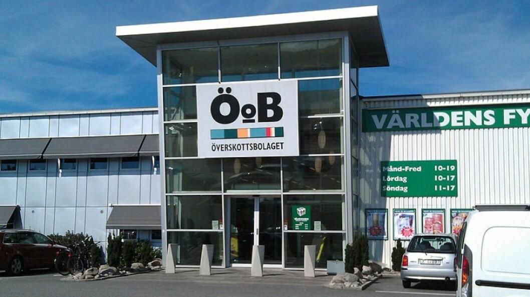 ÖoBs varehus i Varberg vil inngå i nordiske plattform for lavprisvarehus. (Foto: Green Yoshi)