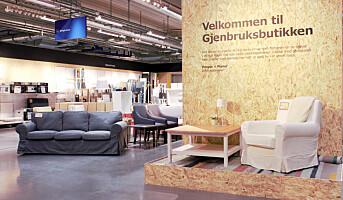 IKEA satser på gjenbruk
