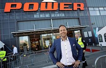 Power-sjefen: – Må være kreativ for å drive butikk i dag