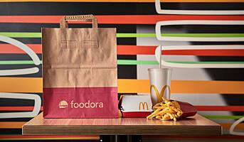 McDonald's inngår samarbeid med foodora