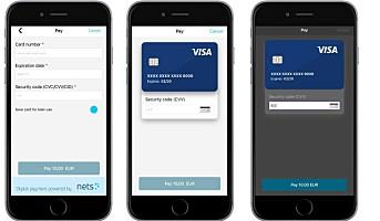Programpakke for betaling i apper