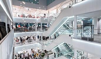 Åpnet flaggskipbutikk i fem etasjer