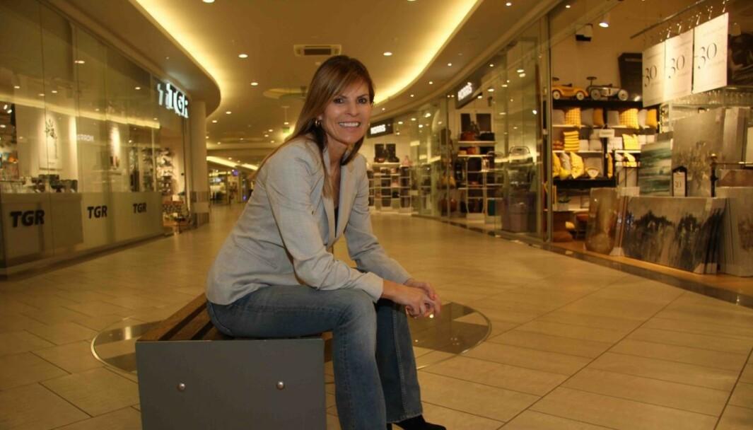 Senterleder Elisabeth Lohk gleder seg over ny butikker og bransjer på Gulskogen. Arkivfoto.