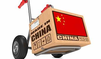 – Stopp subsidieringen av netthandel fra Kina