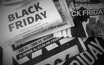 Nets: Stor økning i netthandel hele forrige uke – bortsett fra på Black Friday