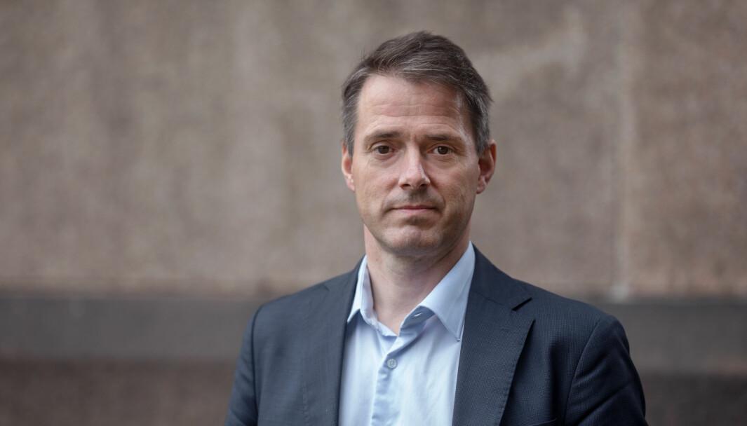 Ivar Horneland Kristensen, administrerende direktør i Virke