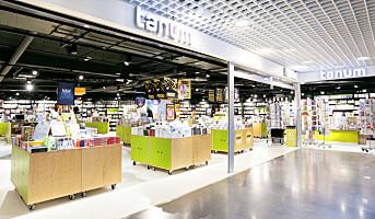 Selger alle Tanum-butikkene til Norli og Ark, unntatt én