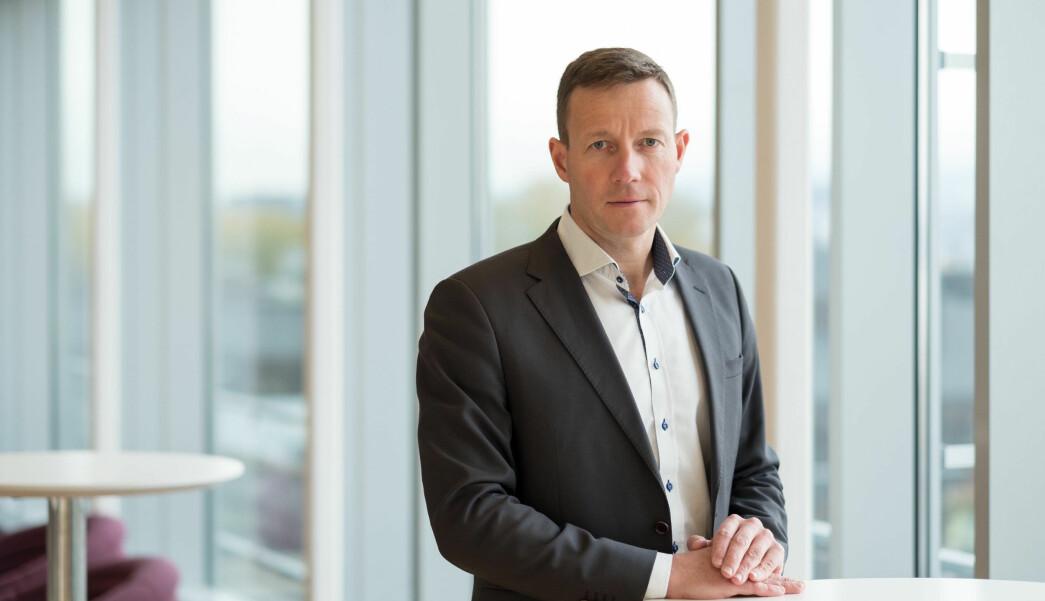 Harald J. Andersen, direktør for Virke Handel.