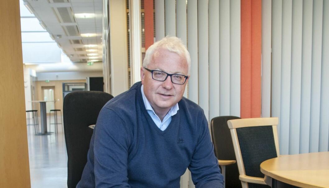 Torbjørn Skei, adm. dir. i Coop Midt-Norge, mener at fusjonen gir økt konkurransekraft.