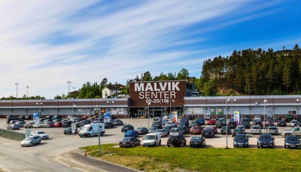 Malvik Senter har hatt vekst i koronatiden.