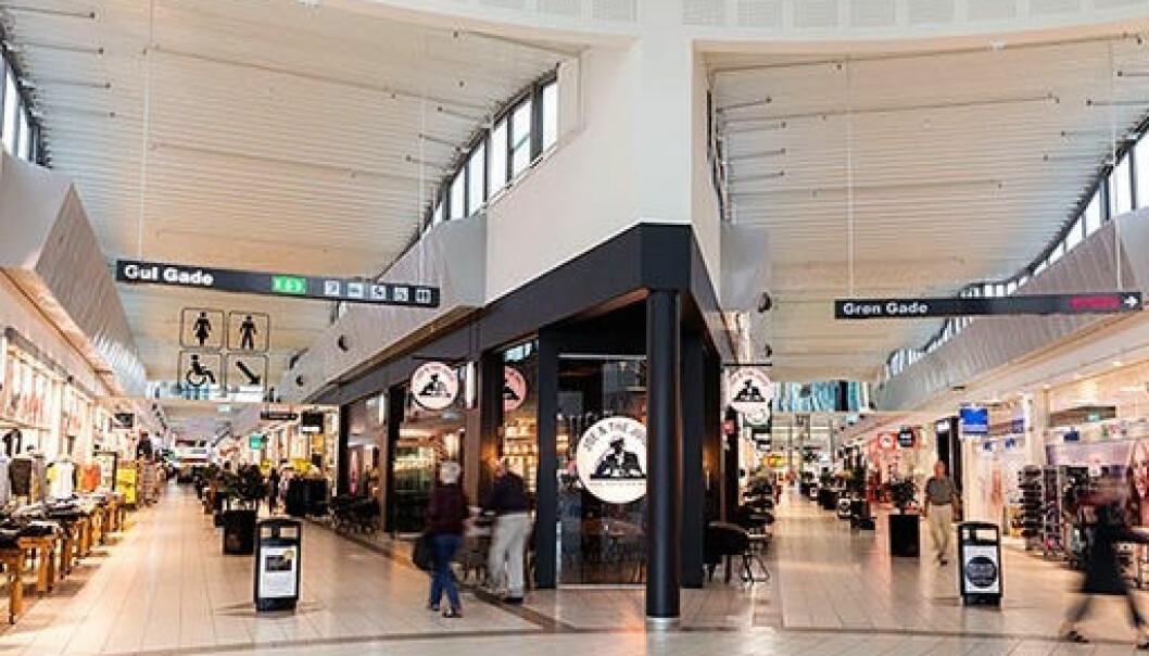 Randers Storcenter, som er ett av 17 sentre i Danske Shoppingcentre, rammes av påbudet som gjøres gjeldende i dag kl 10.
