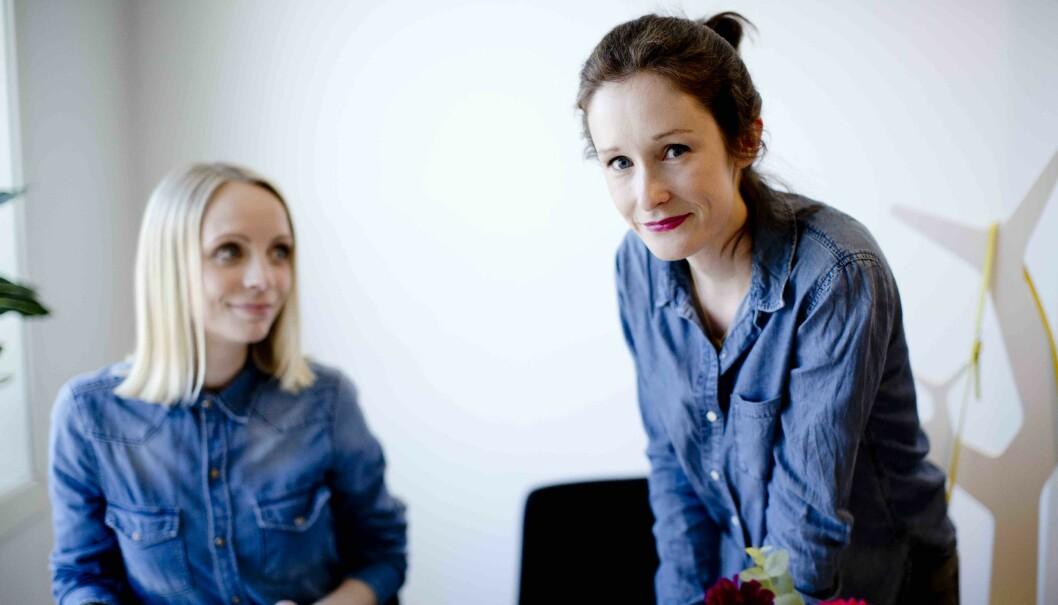 Lena Simeone Jensen og Martine Larsen Rygh i Turbo Kommunikasjon understreker at vi ikke må slutte med å kommunisere med målgruppen vår.
