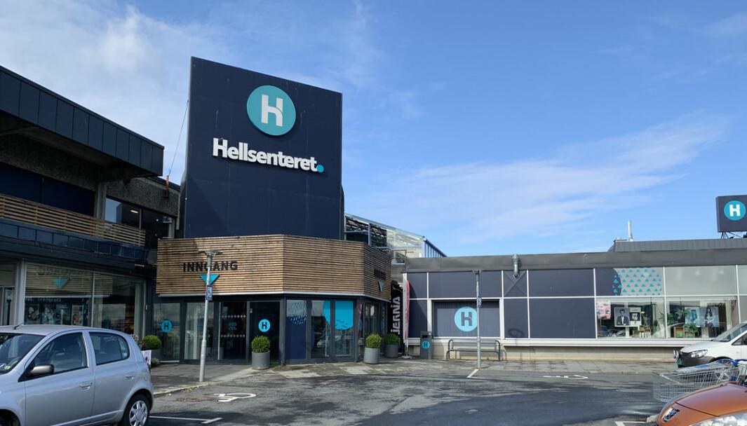 På Hellsenteret i Stjørdal droppes husleien helt i april.