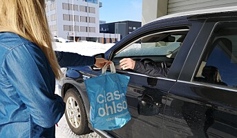 Kraftig økning i hjemlevering for Clas Ohlson