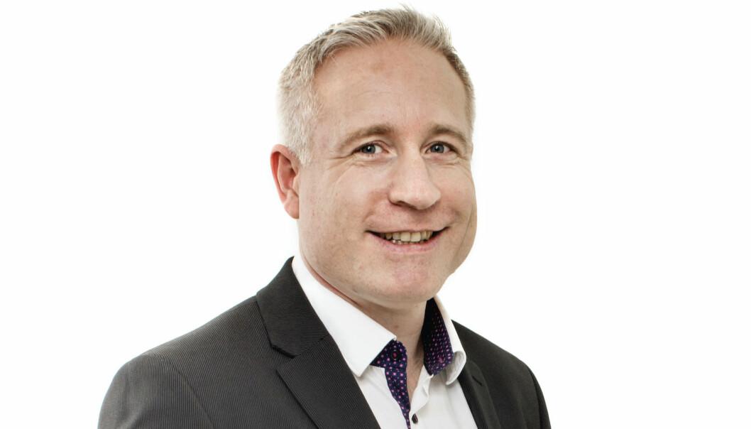 Espen Eldal har rykket opp fra finansdirektør til toppsjef i Europris.