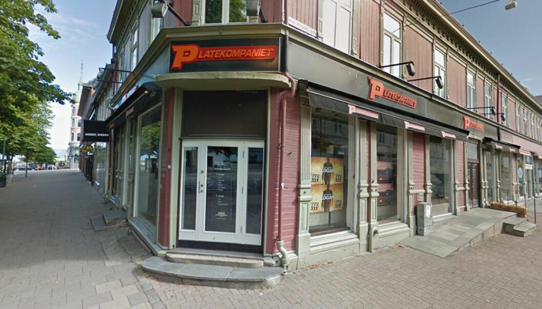 Platekompaniets butikk i Trondheim legges ned.