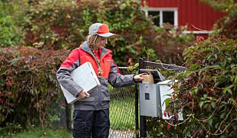 Posten har doblet antall småpakker levert i postkassen