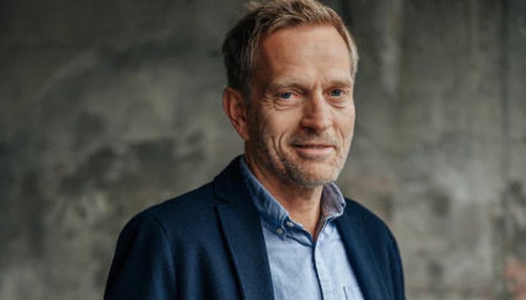Håkon Preus er strategidirektør i Schjærven