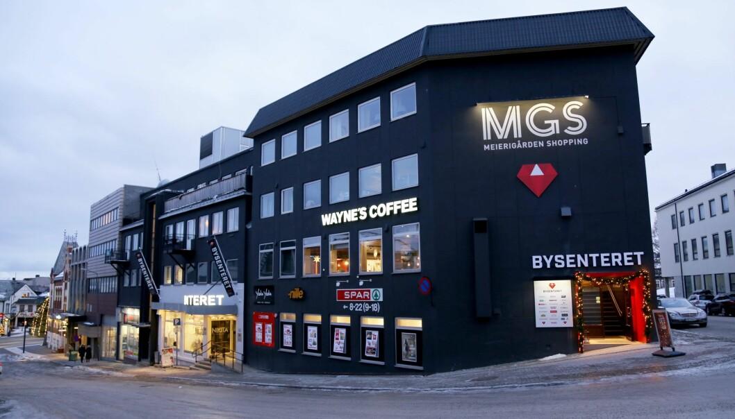 Bysenteret i Harstad sentrum følger med i tiden og satser på netthandel.
