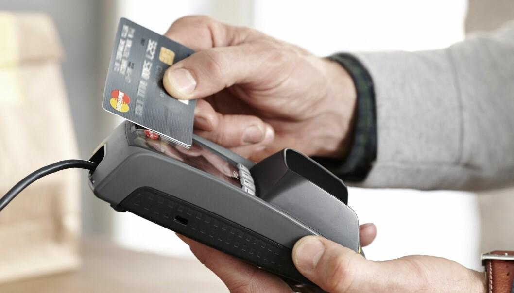 Nordia Payment Services får i koronatidene inn bestillinger på nye betalingsterminaler.