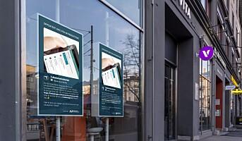 Digitale skjermer mot korona