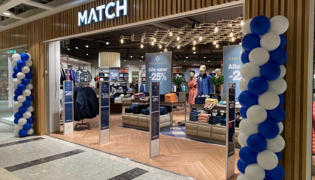 Voice gjenåpner alle butikkene i sine kjeder i morgen, deriblant Match.