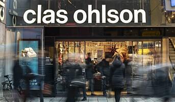 Nedgang for Clas Ohlson – forventer likevel driftsmargin på 4-6 prosent