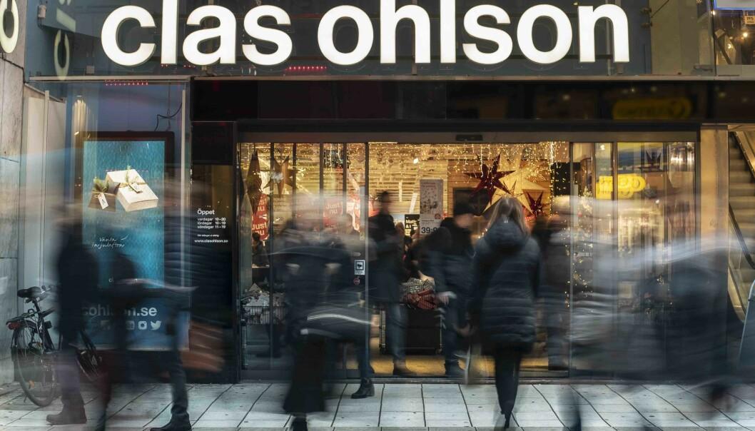 Clas Ohlson er som andre påvirket av pandemien, men satser likevel på å legge fram et årsresultat med svarte tall.
