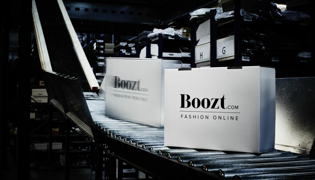 Fjorårets kolleksjon skrives kraftig ned av Boozt, noe som gir røde tall for første kvartal.