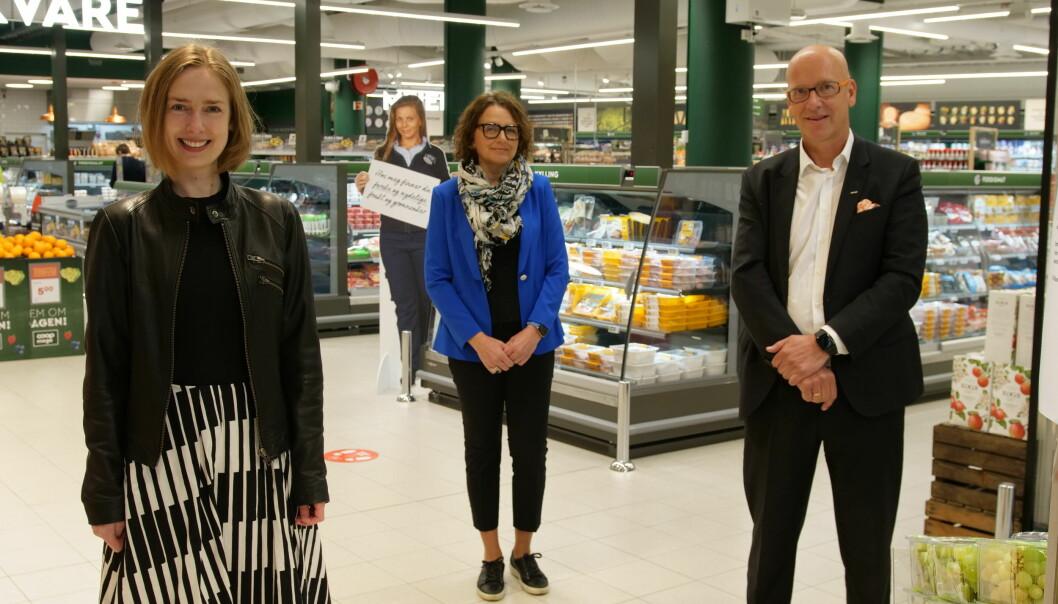 I dag lanserte Coop og Posten en ny hjemleveringstjeneste av dagligvarer. Næringsminister Iselin Nybø møtte konsernsjef i Posten Norge, Tone Wille, og konsernsjef i Coop Norge, Geir Inge Stokke, for å høre mer om løsningen.