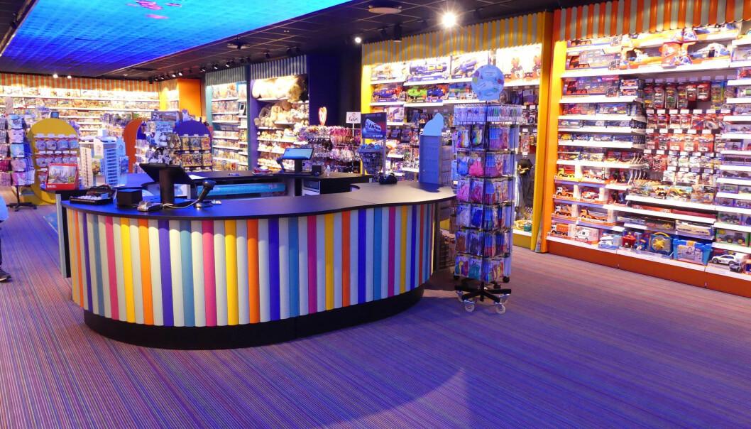 Kundeopplevelsen stod i fokus da Kozmos bygde ny butikk på Sandvika Storsenter.