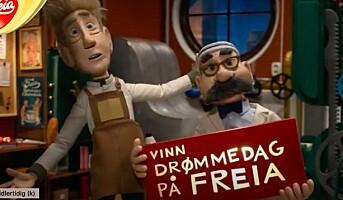 Reklamekampanje for Freia sjokolade gikk fri i MFU