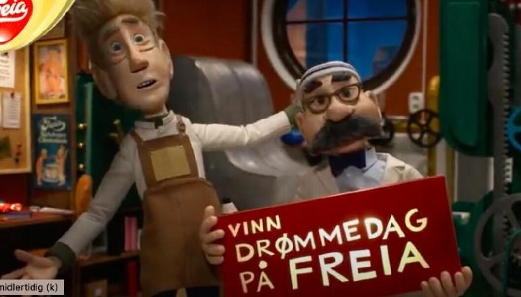 Klageren mente at reklamen for Freia sjokolader var rettet mot barn, men Mondelez gikk fri.
