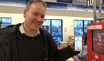 Mobilbetaling tar av hos Coop
