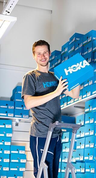 Sondre Olstad opplever økt salg gjennom korona-krisen.