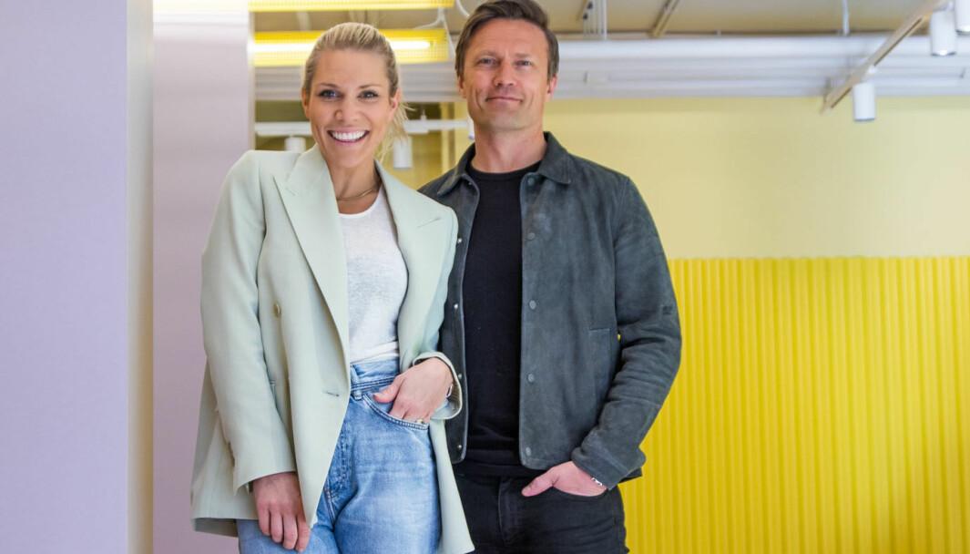 Anett og Jørgen Jalland åpnet multibrand og sportsmote-konsept midt i korona-krisen.