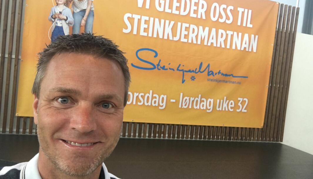 Bendik Holstad gir seg som senterleder for AMFI Steinkjer etter tolv år.