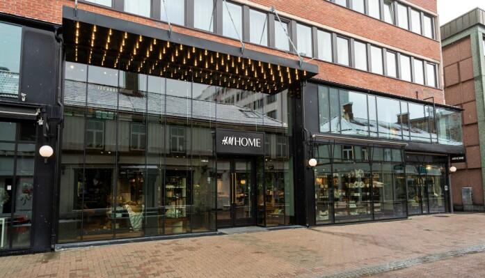 H&M Homes nye konseptbutikk i Trondheim ligger i Thomas Angells gate og er på 565 kvm.